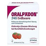 Oralp�don 240 Erdbeere Beutel, 10 St
