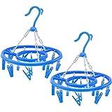 com-four® Camping Wäschetrockner, Wäschespinne zum Aufhängen [Auswahl variiert] (01 Stück - bunt)