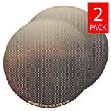 Goldfarbenes (TM) Brauen Disk Coffee Filter für AeroPress Coffee & Espresso Maker – Edelstahl Golden wiederverwendbar Filter – 2 Pack