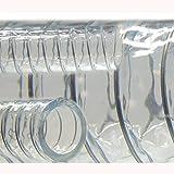 Saugschlauch Spiralschlauch Stahlspirale Abwasserschlauch transparent (Meterware) 19mm
