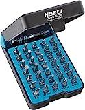 HAZET Profi Bit-Satz (36 Einzelteile, für alle gängigen Verschraubungen, praktische 'BitE'-Box) 2240N/36