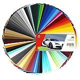 Farbfächer Plotterfolie Folie 970, 975, 951, 751 C, 651, 631/451 / 7510 Plott Folie Autofolie Werbung (Oracal 970/270/280/283/285)