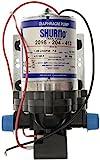 Shurflo Trail King 7 Wasser-Pumpe, Silberfarben, 12 V/30 psi