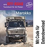 GPS-Offroad-Tourenbuch Marokko 45 Routen incl. Code für Datendownload mit Tracks fürs Navi