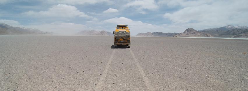 Tigerbus auf seiner großen Reise