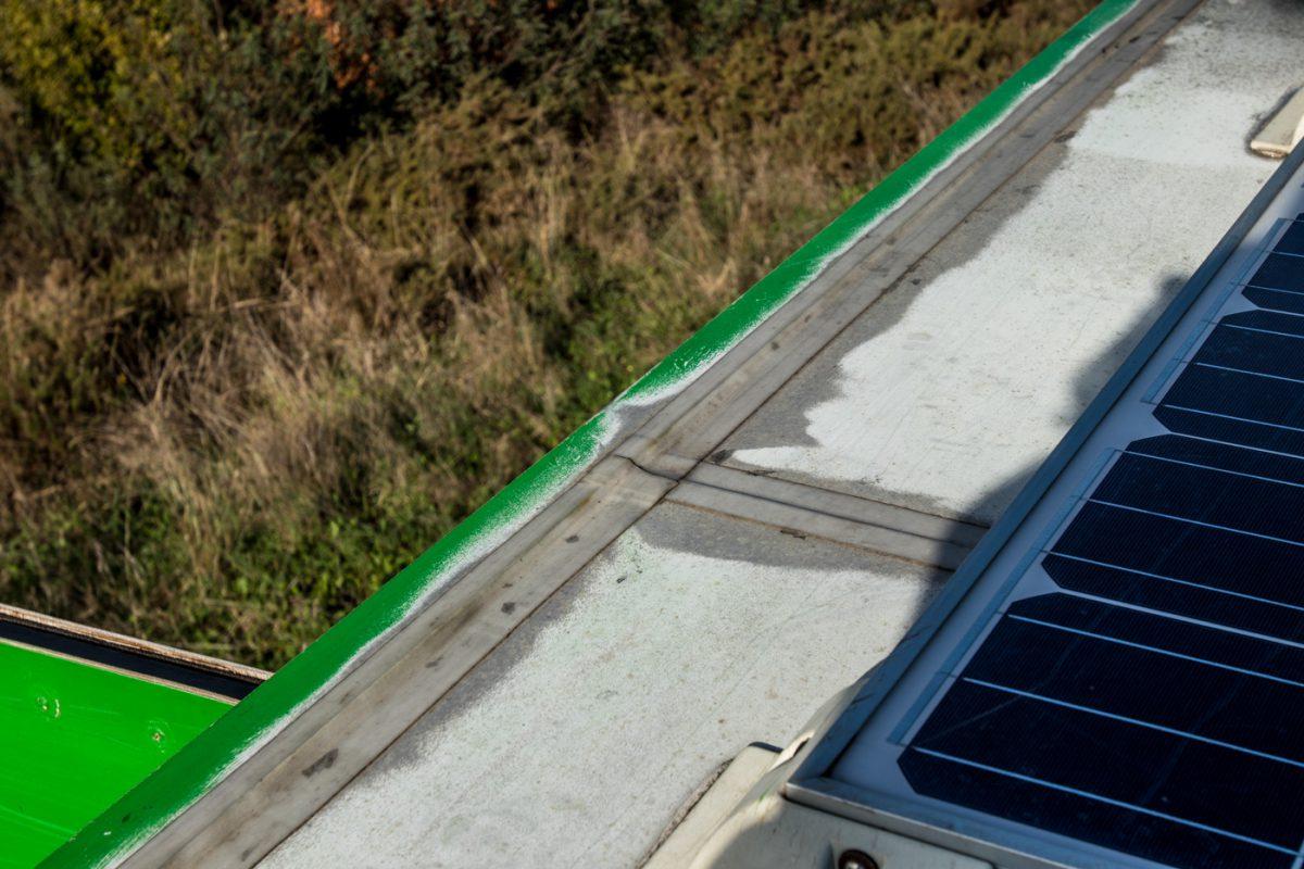 3M Hochleistungsdichtband auf dem Wohnmobildach