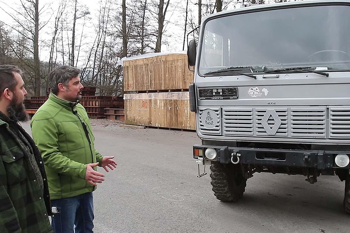 Tobias Teichmann von 4wheel24 erklärt uns den TRM 2000
