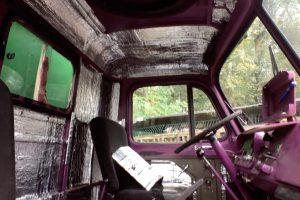 Alubutyl zur Geräuschdämmung im Fahrerhaus