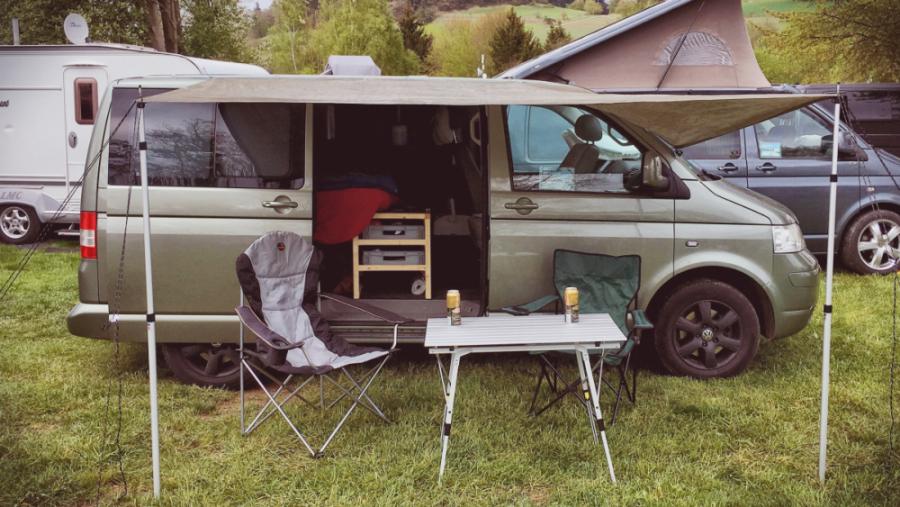 VW T5 als Camper