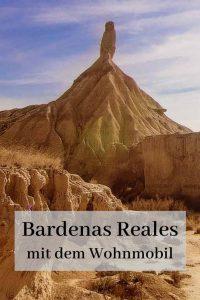 Bardenas Reales mit dem Wohnmobil
