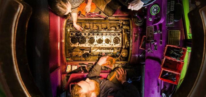 Motorrevision beim Steyr 680