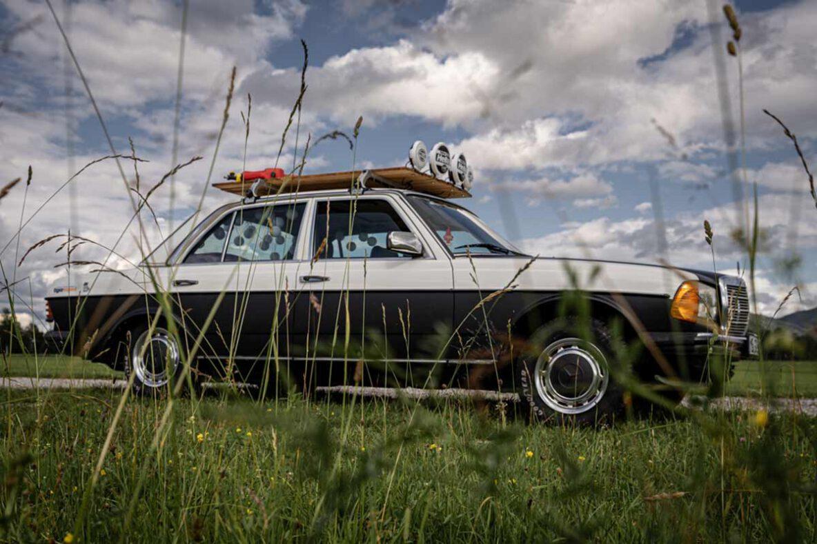 Benz W123 Rallye Style
