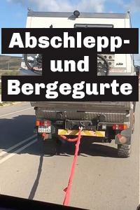 Universeller Bergungsgurt wei/ß 9,00 Meter 10 Tonnen.