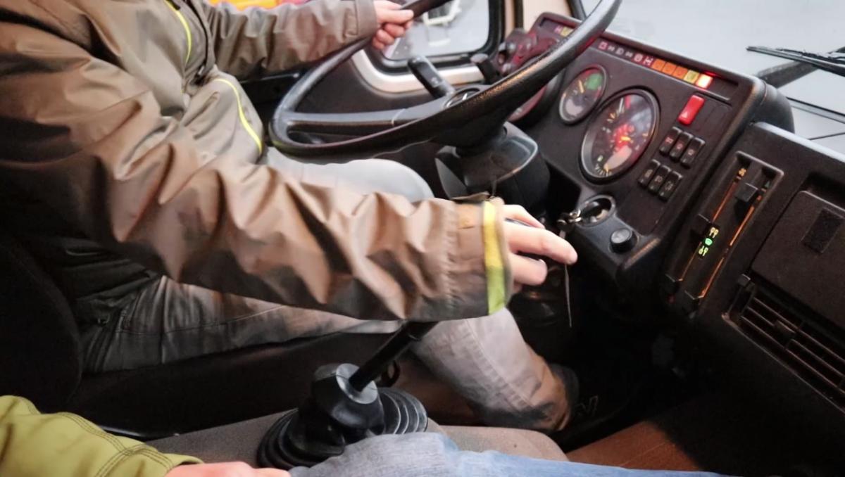 Cockpit Mercedes 1222
