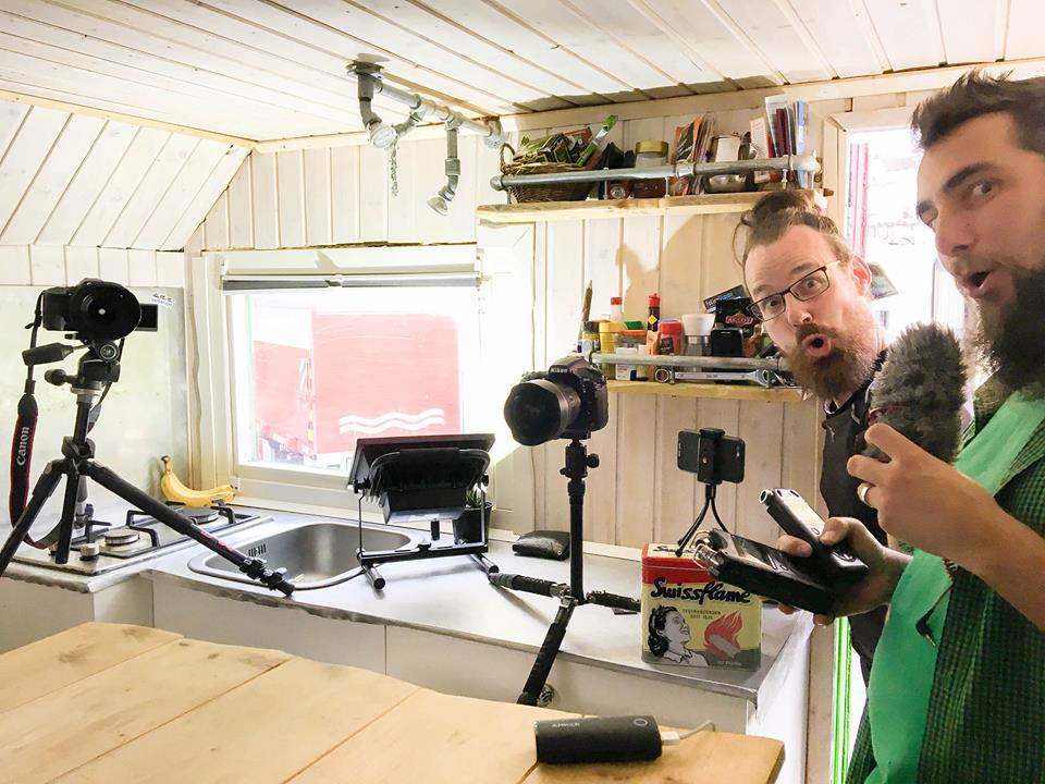 Thilo Vogel und Herman unterwegs im Interview für den Camper Nomads Congress