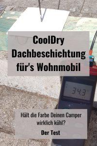 CoolDry Dachbeschichtung Test