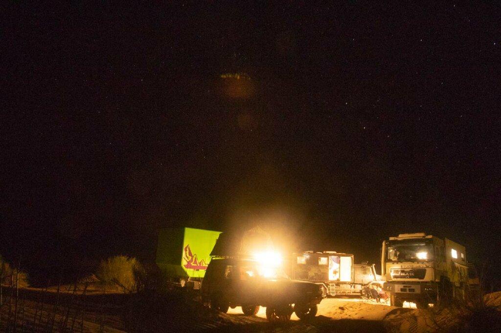 Dünencamp Tunesien