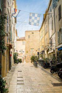 Gassen von Saint Tropez