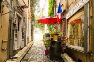 Gassen in Saint Tropez