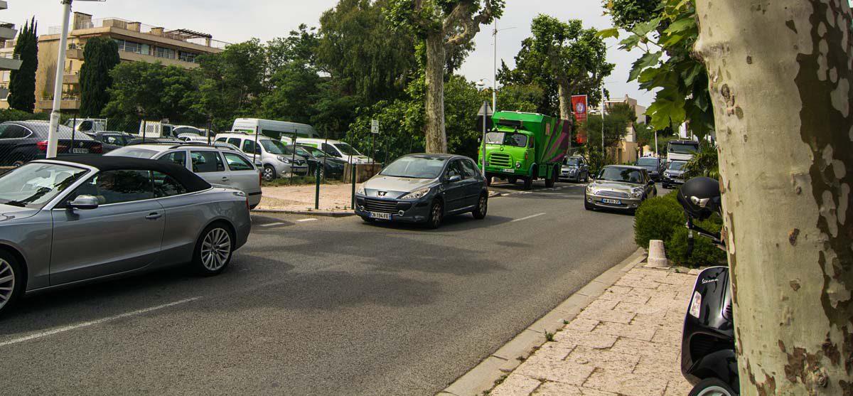 LKW Parken Saint Tropez
