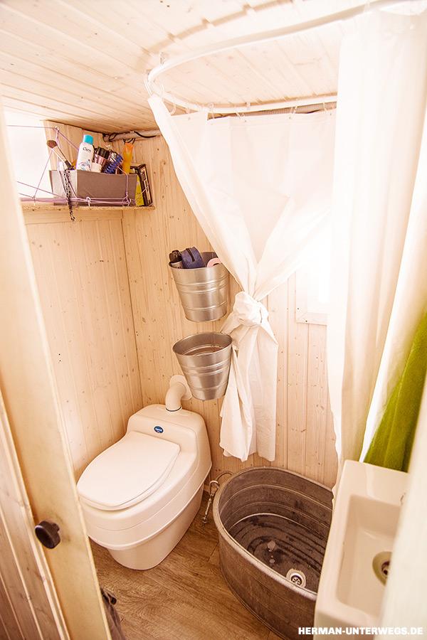 Separrett Trockentoilette im Wohnmobil