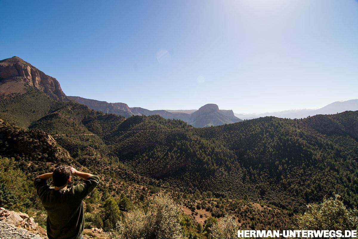 Marokkos Berglandschaft