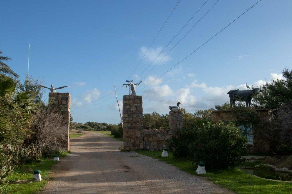Nationalpark Ichkeul Einfahrt