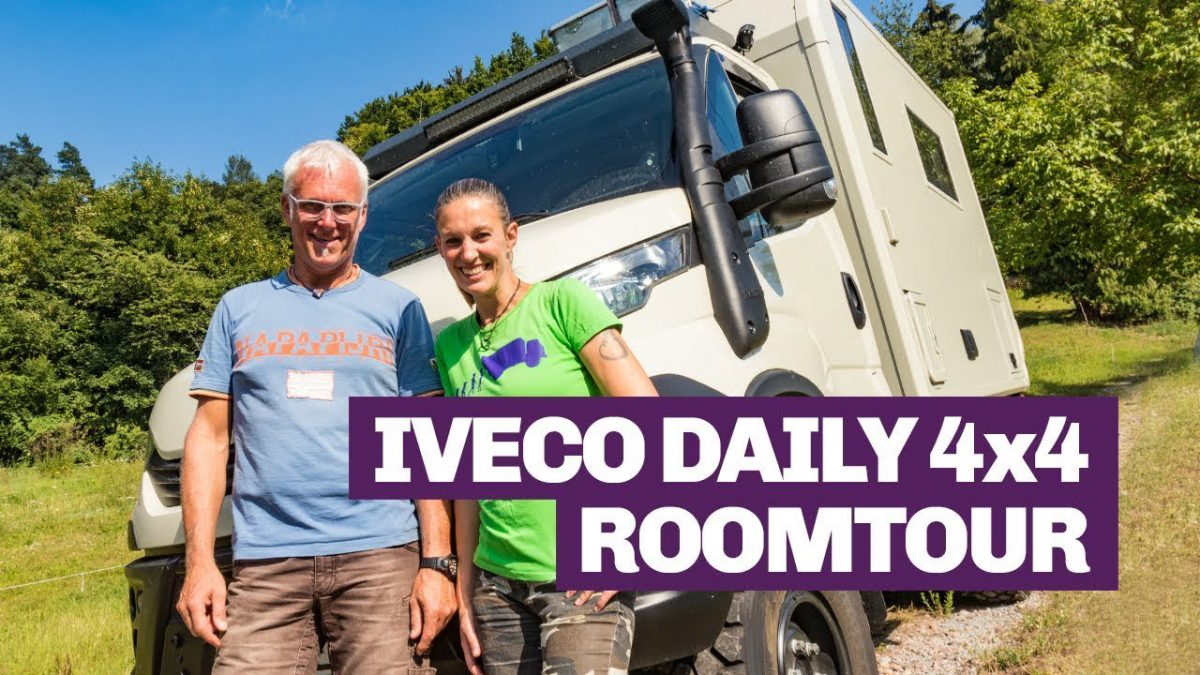 Iveco Daily 4x4 Camper Roomtour
