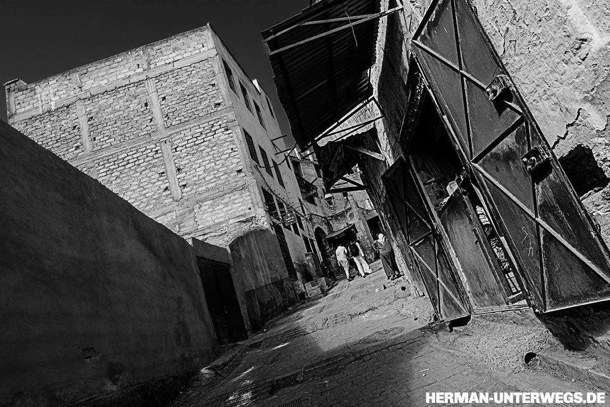 Strassenbild in der Medina von Fes