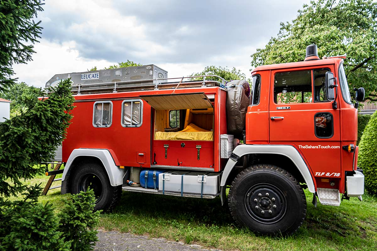 Feuerwehr Camper aus Magirus 130 D7