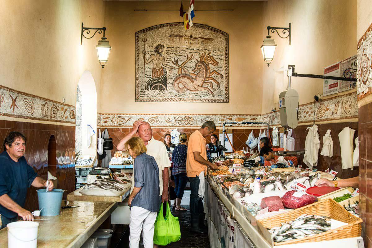 Fischmarkt Saint Tropez
