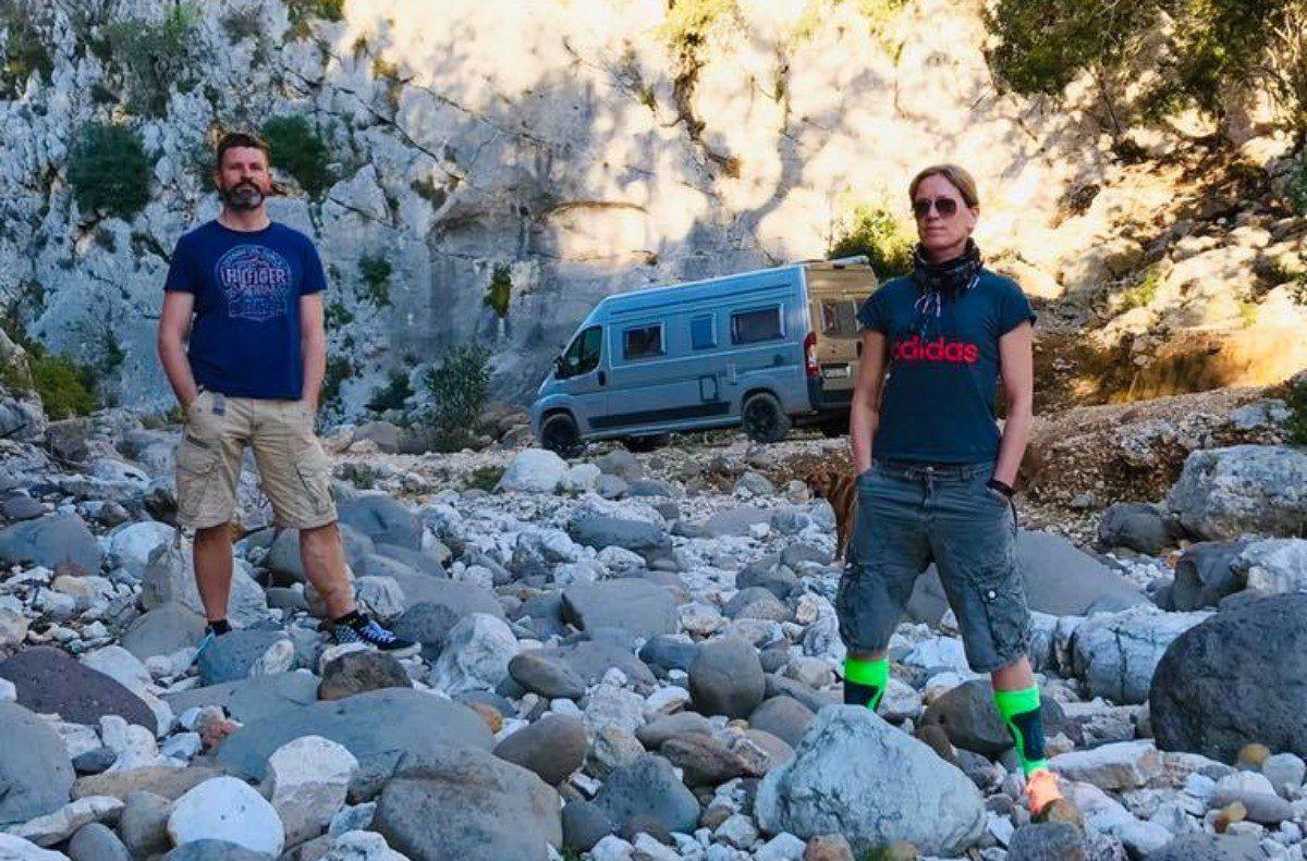 Fluchtwagen mit Dirk und Stef auf Sardinien