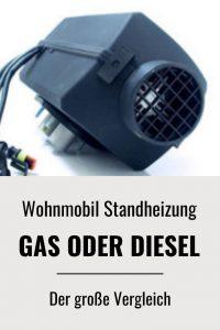 Heizen im Wohnmobil mit Gas oder Diesel - der große Vergleich