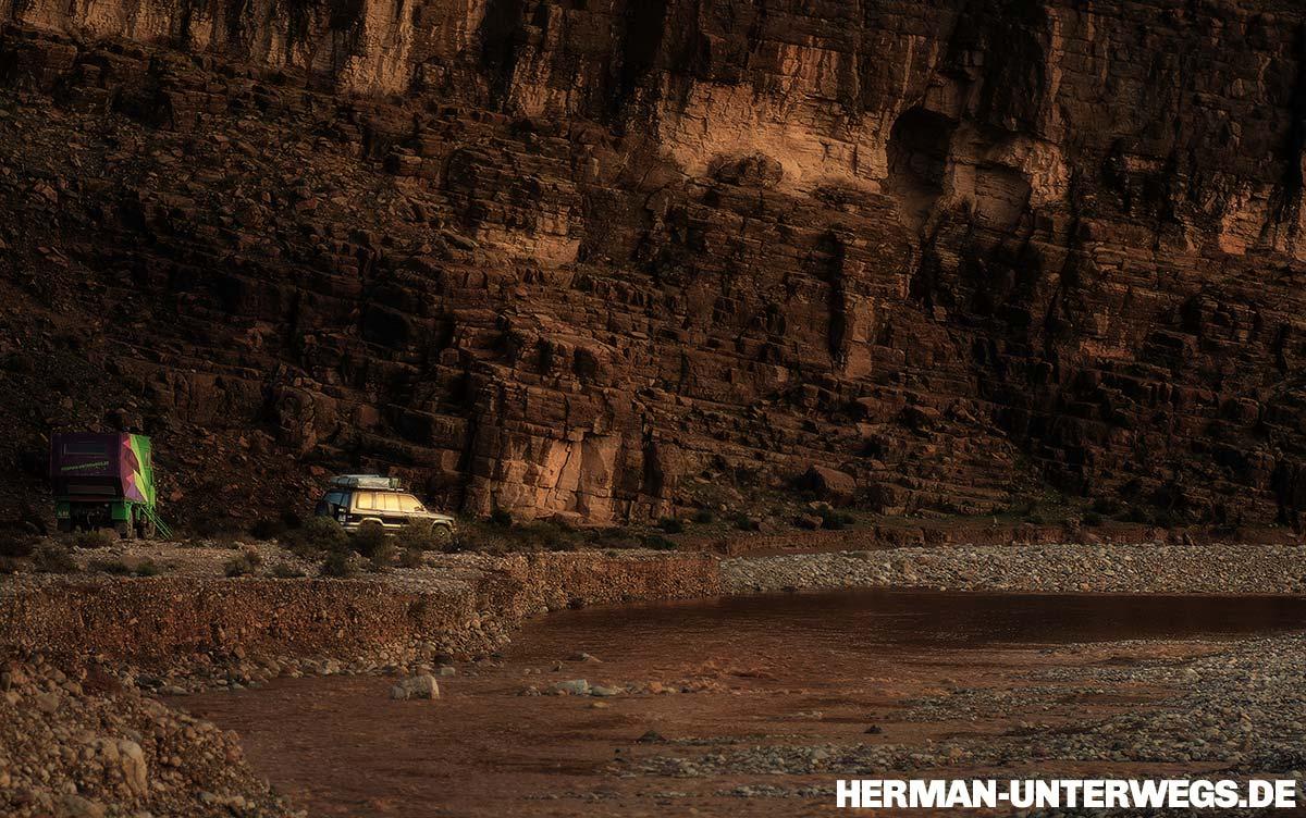 Wasser im Wadi