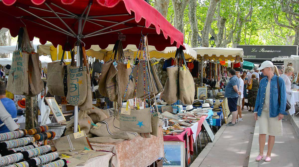 Markt in Saint Tropez