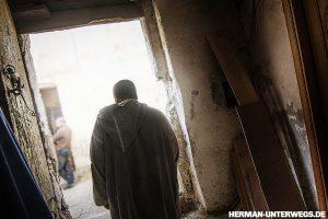 Medina von Fes - Berber in den Gassen