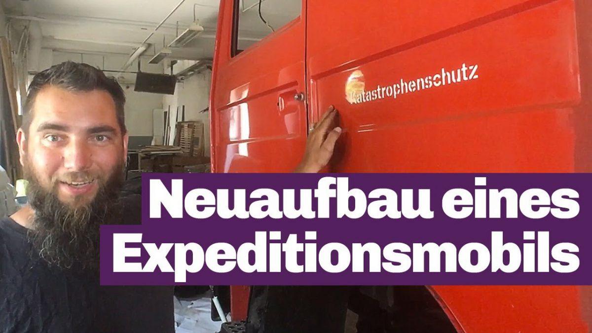 Umbau Dokumentation Feuerwehr zu Expeditionsmobil