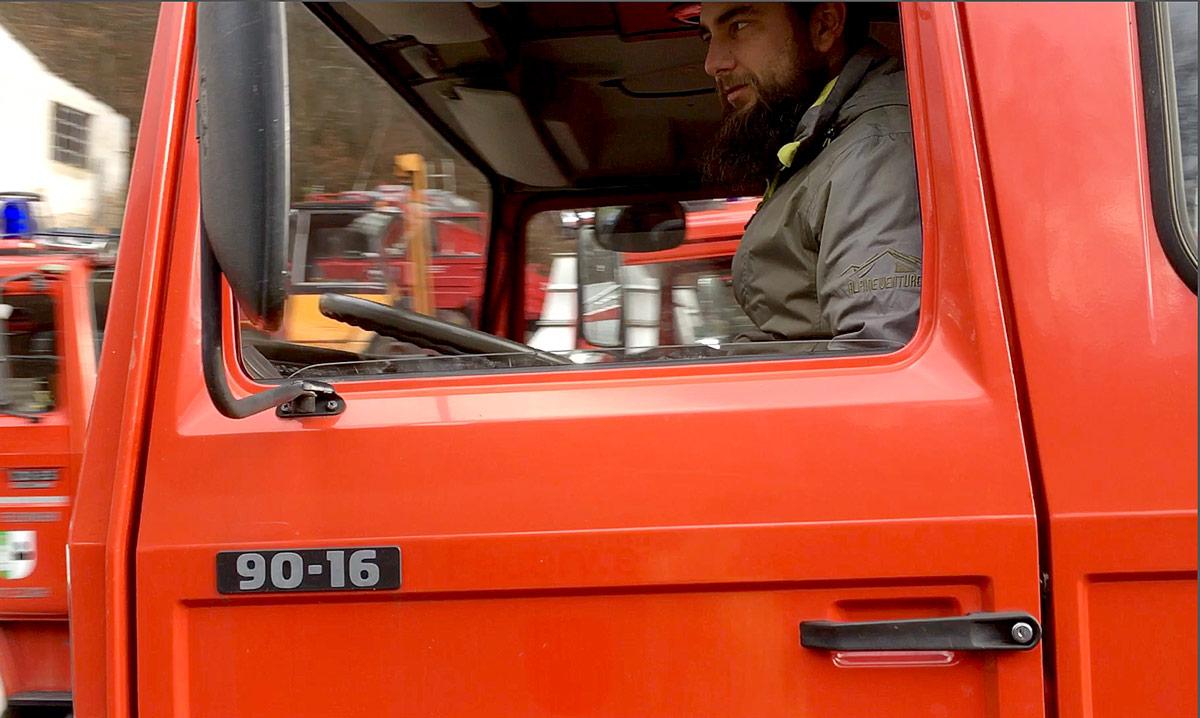 Iveco 90-16 Probefahrt