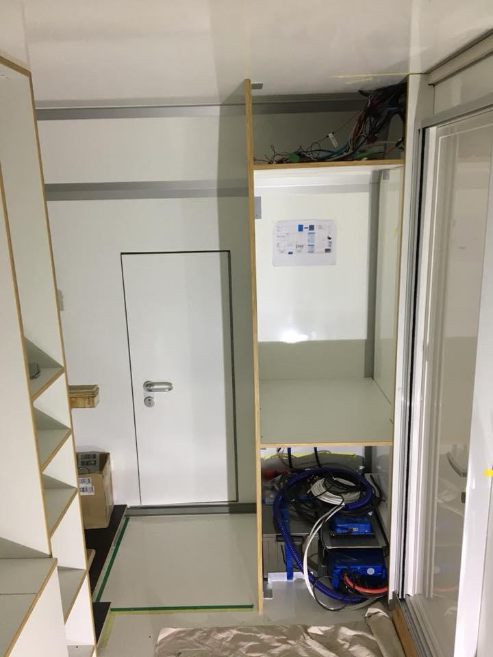 Iveco Daily 4x4 Camper - Innenraum im Bau