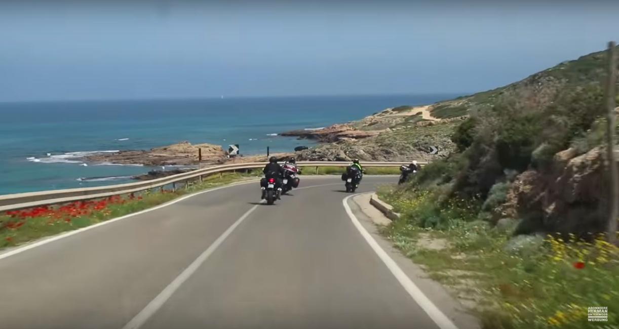 Sardiniens Küstenstraßen, Paradies für Motorradfahrer