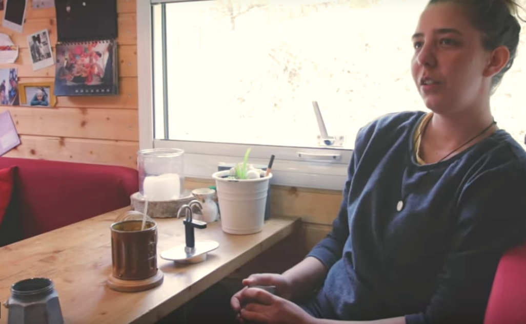 Kaffee kochen im Wohnmobil bei Kati und Martin
