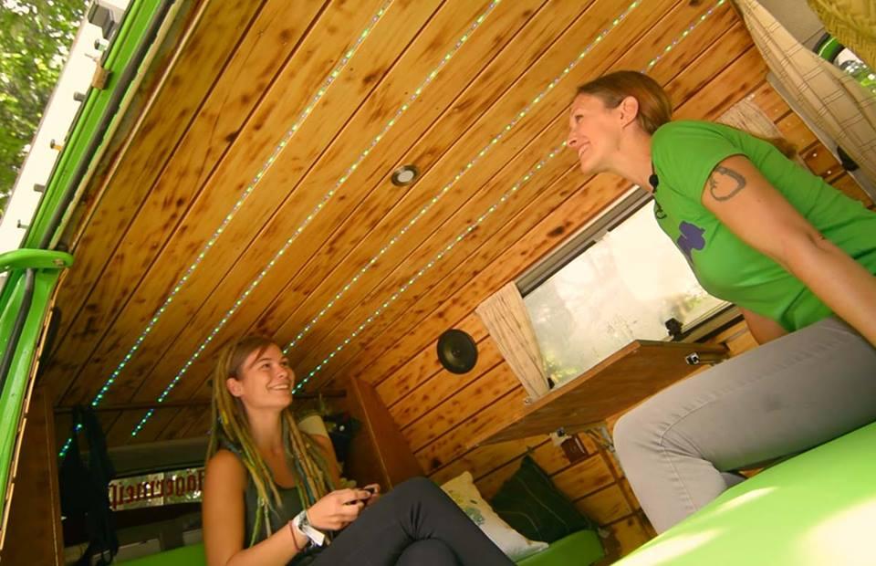 LED Beleuchtung im Vw T3 Vanlife Camper