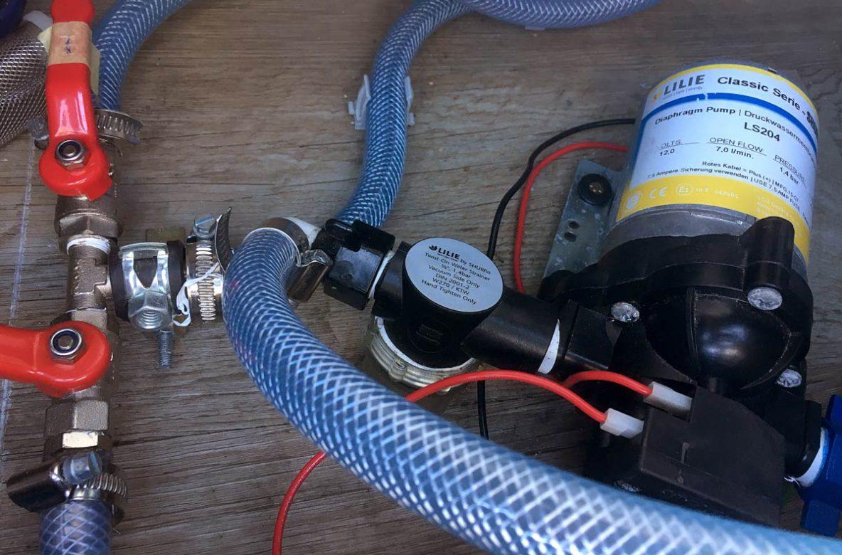 Druckwasserpumpe Wohnmobil
