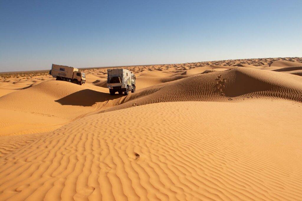 Offroad Sahara Tunesien