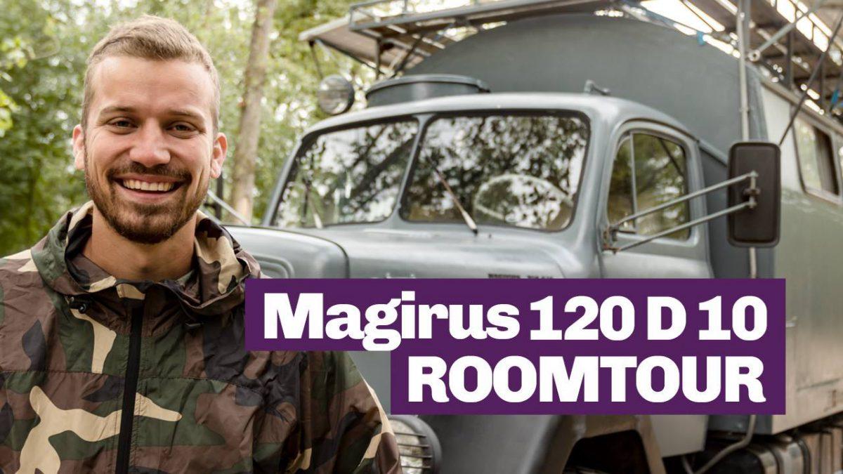 Roomtour Magirus 120 D 10