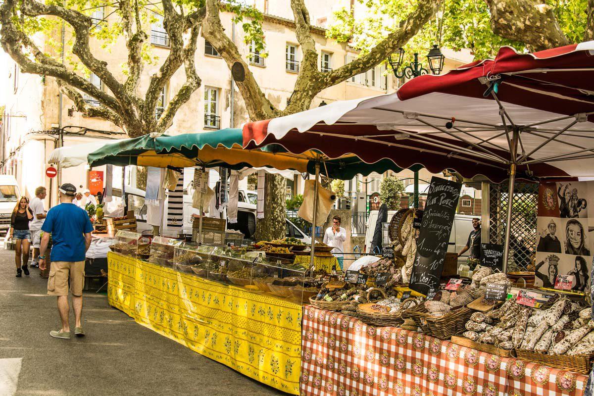 Markt Saint Tropez