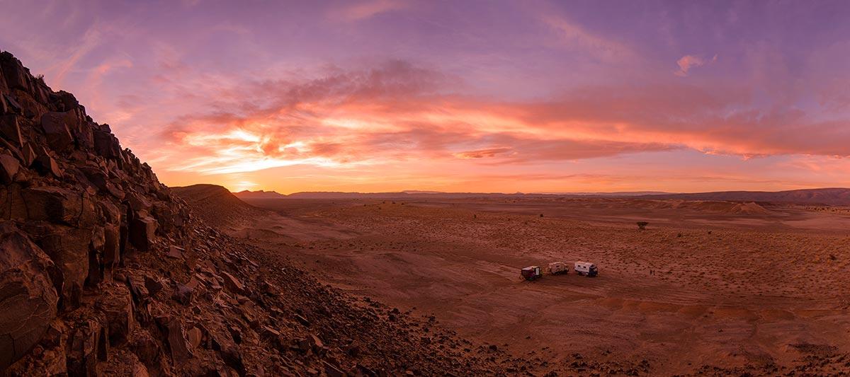 Marokko mit Expeditionsmobilen