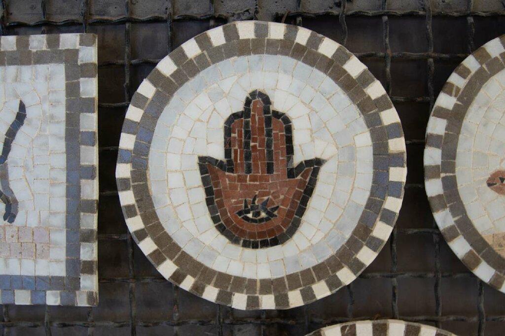 Mosaik Kunst in El Djem