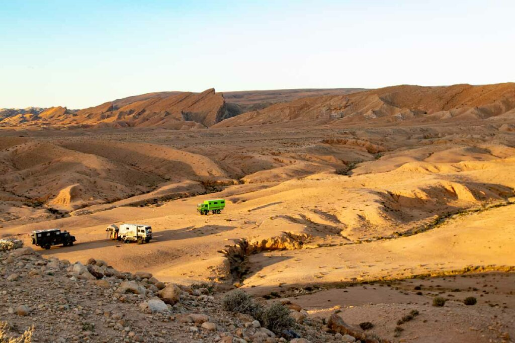 Tunesien, Campen Nähe Gafsa