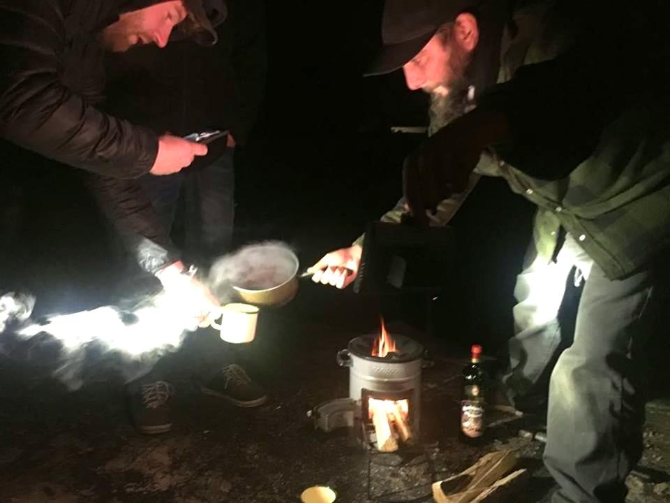 Glühwein vom Outdoor Ofen